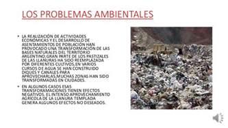 problemas ambientales y desastres naturales
