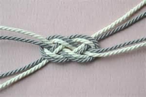 bracelet n蜩ud marin cordons torsad 233 s perles co