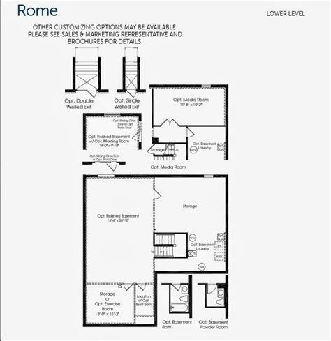Sweet Home Floor Plan by Awesome Ryan Homes Rome Floor Plan New Home Plans Design