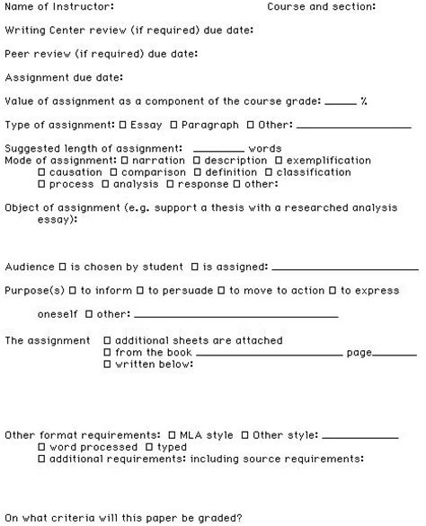 format assignments university 9 best photos of college homework format college
