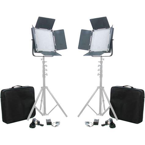 high cri led l came tv high cri 900 bi color led two light kit l900s2kit b h