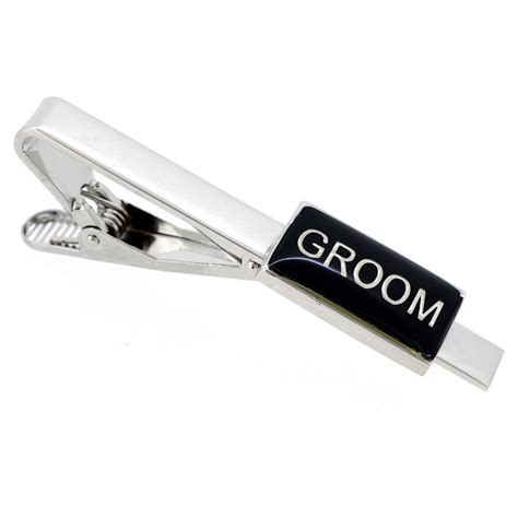 wedding tie clip groom wedding tie clip fantasyard costume jewelry