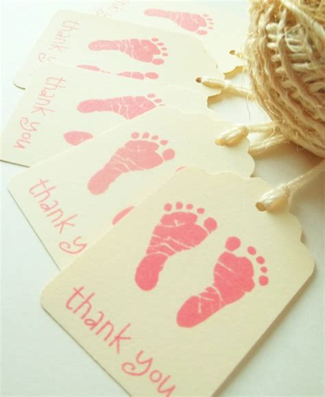 Thank You Baby Shower Favor Tags by Baby Shower Favors Baby Shower Thank You Tags Baby By