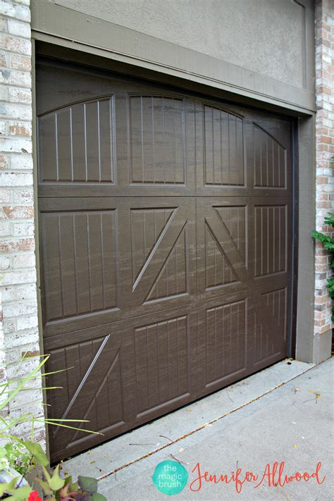 Garage Doors New Our New Garage Doors A Garage Makeover The Magic Brush