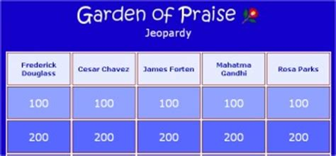 Garden Of Praise by Tests