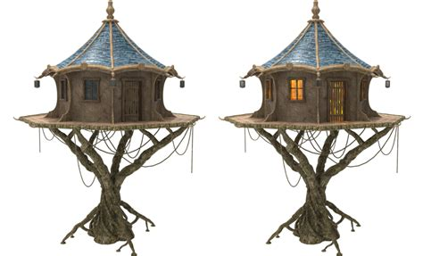 sketchup layout transparent fairy tree house x 2 by fumar porros on deviantart
