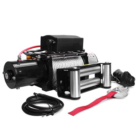 boat winch for 4x4 12v 4000lbs recovery electric winch atv 4x4 4wd truck car