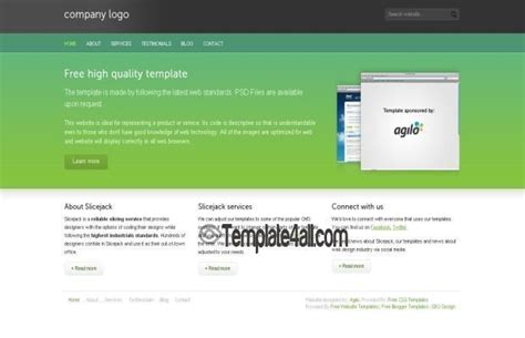 free css website templates 187 page 7