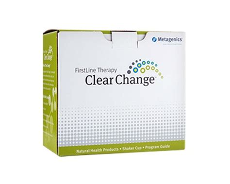 Metagenics Liver Detox Side Effects by Line Therapy Clear Change