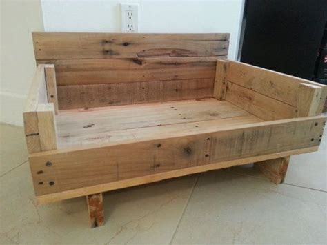 wooden dog beds reclaimed wood dog bed mission style