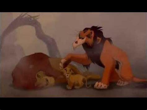 le roi lion film youtube le roi lion la mort de mufasa youtube