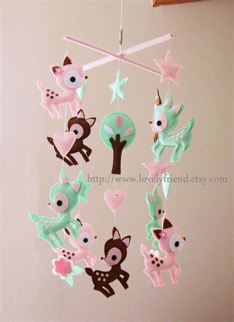 Deer Crib Mobile by Baby Crib Mobile Baby Decorate Mobile Baby