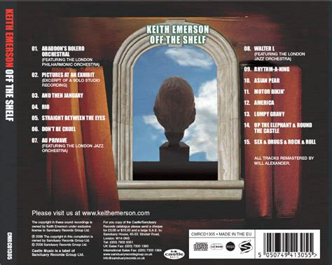 Of The Shelf by Official Keith Emerson Website The Shelf