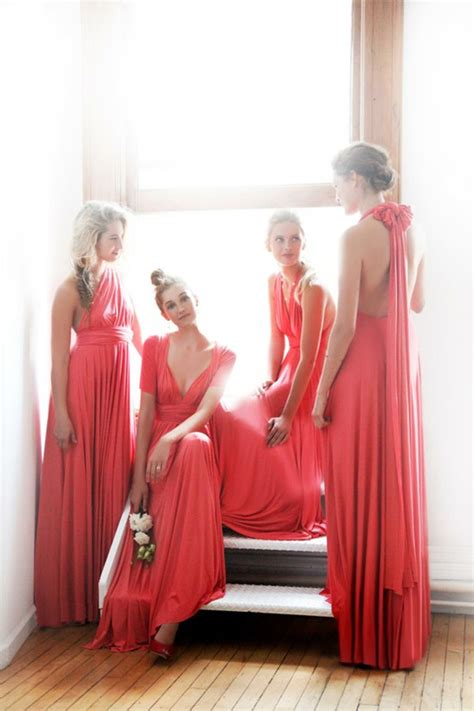 Coral Bridesmaid Dress by Special Wednesday Top 10 Coral Bridesmaid Dresses Ideas