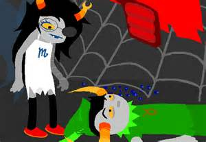 Go back gt gallery for gt vriska and tavros fanfiction