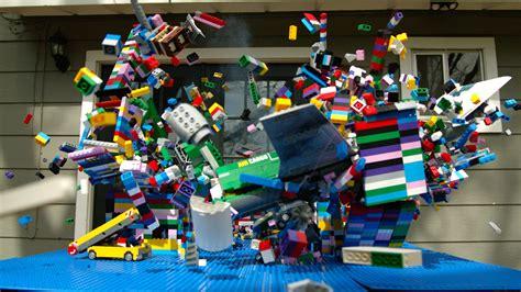 lego guys lego plane crash in motion the mo guys