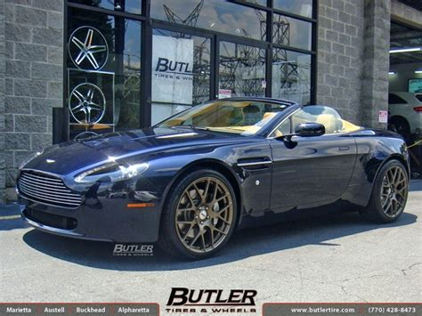 custom aston martin vantage aston martin vantage with 20in tsw nurburgring wheels