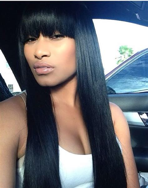 sew in with chinese bang hairstyles sew in hairstyles with chinese bangs www pixshark com