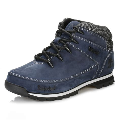 mens blue boots timberland mens hiker boots navy blue sprint