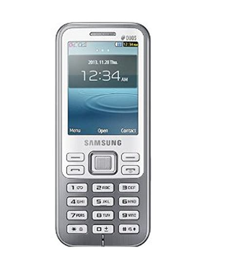 samsung mobile gt samsung metro duos gt c3322i white price in india buy