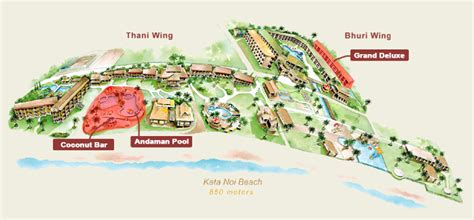 katathani resort map katathani grand deluxe