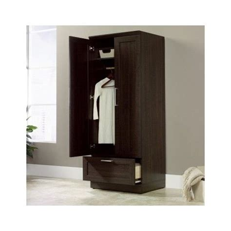 bedroom clothes cabinet tall wardrobe armoire storage closet wooden bedroom
