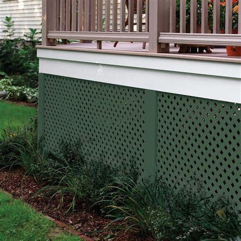 veranda lattice 25 best ideas about plastic lattice on