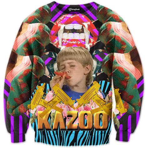 Kid On by Kazoo Kid Crewneck All Print Apparel Getonfleek