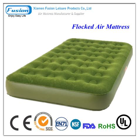 flocked pvc air mattress air bed manufacturer manufacturer from china id 644199