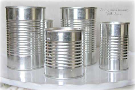 tin cans tin can ilovethisstuff vases