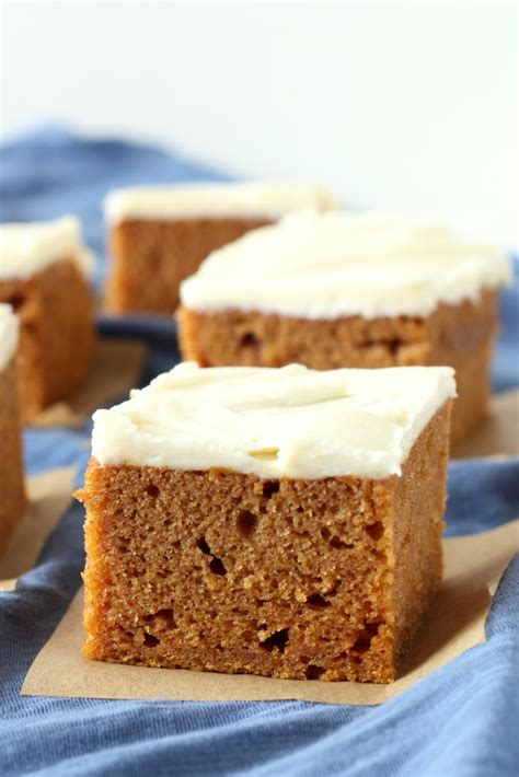 pumpkin bars with cream cheese frosting chocolate with grace