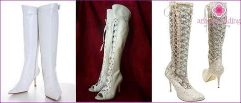 Hochzeits Stiefeletten by Wei 223 E Schuhe F 252 R Die Hochzeit Stiefel Stiefel Und