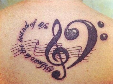 treble clef tattoo 50 treble clef tattoos tattoofanblog