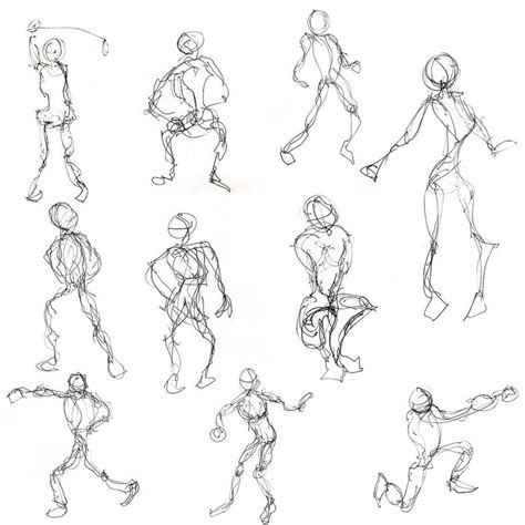 Drawing Figures by Learning How To Draw