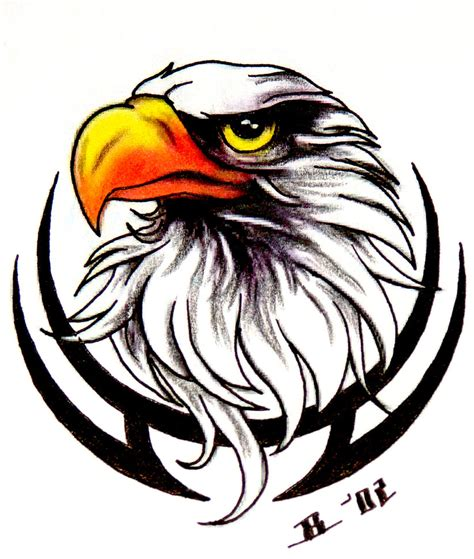 eagle tattoo designs free cool eagle design clipart cliparthut free clipart