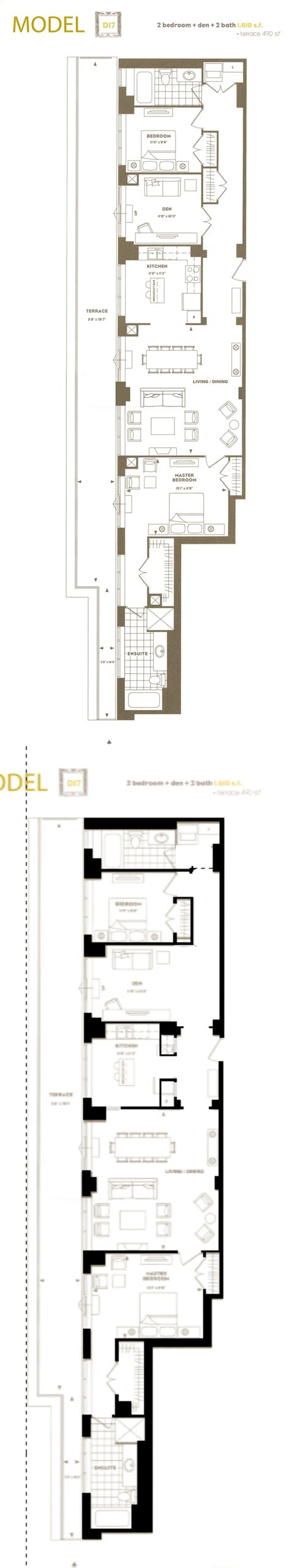 long narrow apartment floor plans why it rocks long and narrow means great flow while