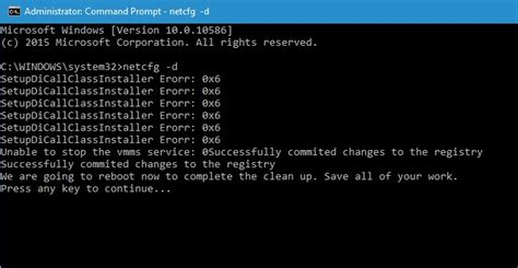 resetting windows update cmd how to cleanup and reset network adapters using command prompt