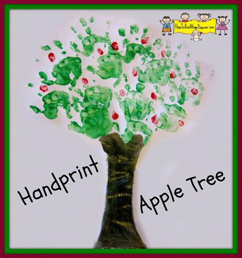 image gallery tree crafts image gallery handprint apple