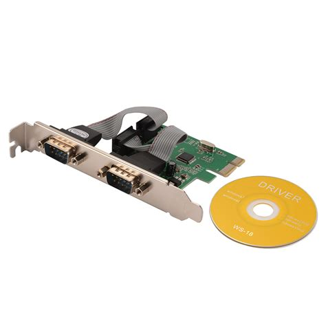 9 pin serial port rs232 9 pin serial port pci e express expansion card
