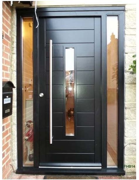 contemporary front doors with sidelights 25 best ideas about external doors on