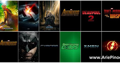 Film Bioskop Coming Soon 2018 | daftar 63 film superhero coming soon 2018 2021 arie