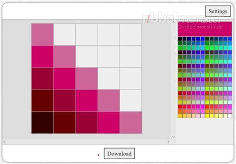 pattern maker update pixel pattern maker free pattern ribbelmonster
