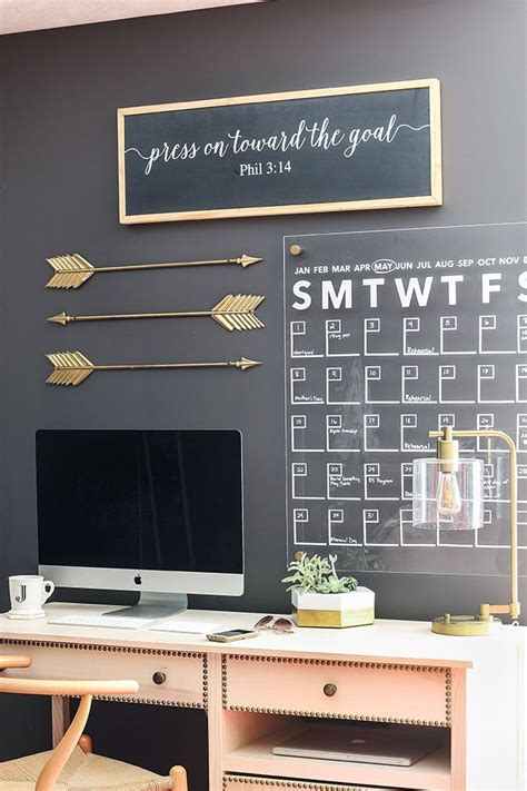 simple diy hacks   totally elevate  home home office furniture home office