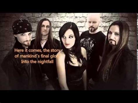 xandria lyrics xandria nightfall with lyrics