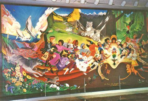 Tableau Intl l a 201 roport international de denver et ses fresques
