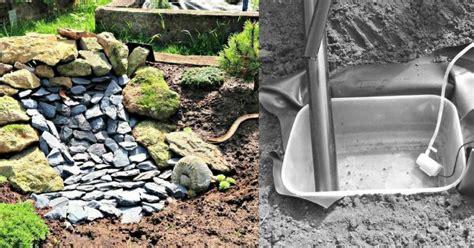 Air Mini Bekas bina air terjun mini dari bekas makanan sahaja impiana