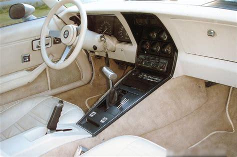 1978 Corvette Interior by 1978 Chevrolet Corvette Silver Anniversary Edition Coupe