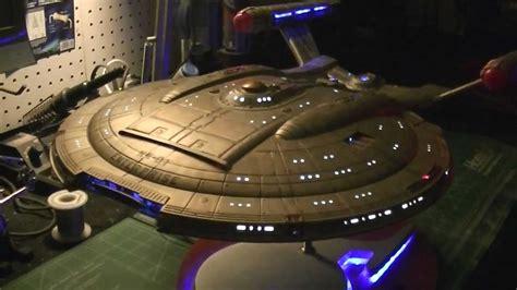 starship enterprise model with lights polar lights 1 350 scale enterprise nx 01 buildup the