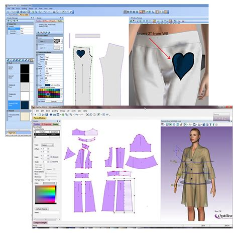 pattern dress software optitex 2d 3d suite cad cam design software singapore