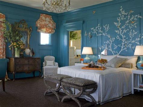 blue walls bedroom modern blue bedroom wall color decorations ideas